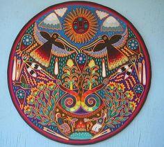 huichol art | Рисунки майя