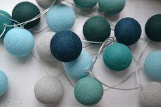 kleuren voor grote ballonlampe: lichtblauw, grijs en donkerblauw
