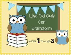 Critical and Creative Thinking through Brainstorming Grades 1-3