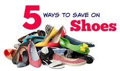 5 ways to save on shoes