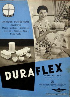 Ana Caldatto : Você sabia que Linha Duraflex foi Estrela anos 50? Duraflex Ltda foi uma concessionária de vendas da Divisão de artigos Domésticos da Manufatura de Brinquedos Estrela década de 50:
