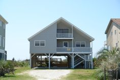 Holden Beach, NC - A Beach Haven 411 a 5 Bedroom Oceanfront Rental House in Holden Beach, part of the Brunswick Beaches of North Carolina. Includes Private Pool, Hi-Speed Internet