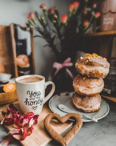 Good Morning Time, Coffee Heart, My Honey, Coffee Photography, Mugs, Tableware, Cover Photos, Aesthetics, Instagram