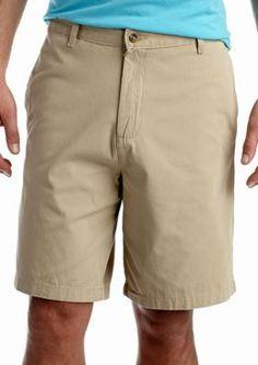 Saddlebred Khaki Big  Tall 11-in. Flat-Front Twill Shorts