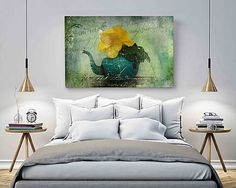 Easy diy bedroom wall decor cheap master ideas art for the modern decorating surprising 7 b Large Wall Art, Canvas Wall Art, Map Canvas, Large Canvas, Different House Styles, Beach Print, Coastal Decor, Coastal Style, Modern Wall