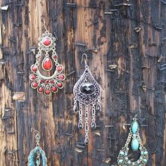dangle ear rings  City Buddha 1807 Coventry Road, Cleveland Heights, OH 44118 (216) 397-5862 www.citybuddha.com