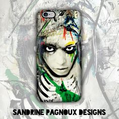 """I love working with faces. The look fascinates me because there is always authenticity. People can't pretend. There is always an emotion in the look and that's what I try to capture.""  CLICK TO SHOP http://fr.caseable.com/artiste/SandrinePagnoux"