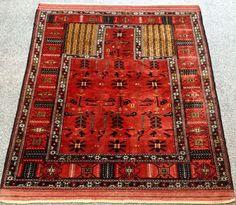 Exklusive Ghochan Perser Orient Teppich 133x112 Persian Rug Carpet Tapis Tapete   eBay