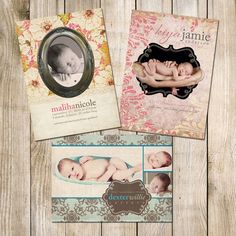 cute baby announcements
