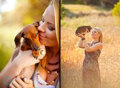 Wiener dog puppy love