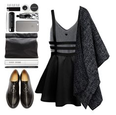 """#878 Kyla"" by blueberrylexie ❤ liked on Polyvore featuring MM6 Maison Margiela, Bobbi Brown Cosmetics, Japonesque, Marie Turnor, Smashbox, Native Union, Marc Jacobs, Cara, Maison Margiela and Carolina Glamour Collection"