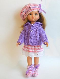 Clothes for dolls Paola Reina Corolle Les Cheries Antonio Juan