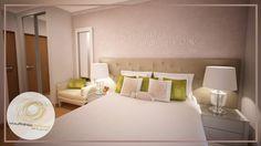 Projecto de Decoração de Suite - Moderno - Romântico - Fresco (De Andreia Louraço - Design e Interiores)