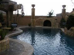One day I will have a pool like this in my home.