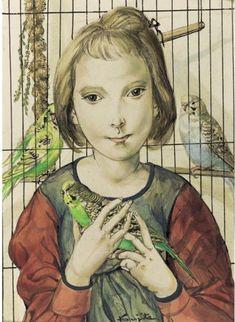 Léonard (Tsuguharu) Foujita (1886-1968) — Дневник tes3m