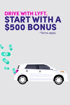 With Lyft, it's easy to make extra cash on the side - you can earn up to $35/hr plus a $500 bonus after you give 100 rides! See how easy it can be at lyft.com today. *Terms Apply*