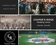 Can't wait to work with Cooper's Ridge! They're one of Columbia's newest wedding venues! Event Venues, Wedding Venues, Destination Wedding, Outdoor Events, Corporate Events, Columbia, Reception, Beautiful, Wedding Reception Venues