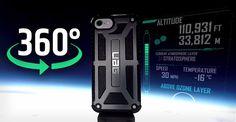 UAG lancia un iPhone 7 nella stratosfera. Ecco il video a 360