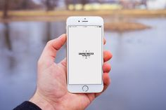Free Man Hand Iphone 6 Mockup Front (60.6 MB) | Graphic Twister