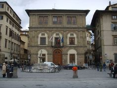 Palazzo Cocchi Serristori, Florence, Italy; built between 1485-1490; attributed to Giuliano da Sangallo.