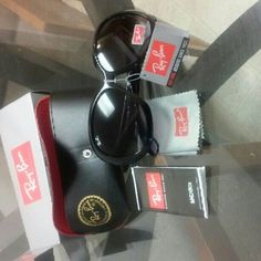 Ray-ban Jackie ohh II sunglasses women black New with tag and box and cloth 4098 Ray-Ban Accessories Sunglasses