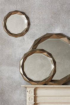 Brillianteer Mirror #anthropologie