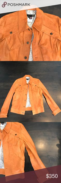 Just Cavalli Men's Leather Jacket Excellent condition. No flaws. Beautiful stitching. Euro size 52 (Large) Just Cavalli Jackets & Coats