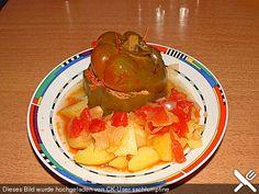 Gefüllte Paprika aus dem Schnellkochtopf, ein tolles Rezept aus der Kategorie Gemüse. Bewertungen: 15. Durchschnitt: Ø 3,8.