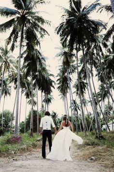 Beach wedding...