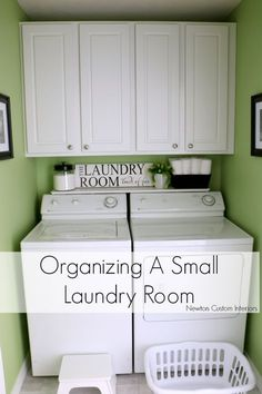 Organizing A Small Laundry Room - If you have a small laundry room, organization is key to making it more functional. These tips and tricks will help you make the most of the space.