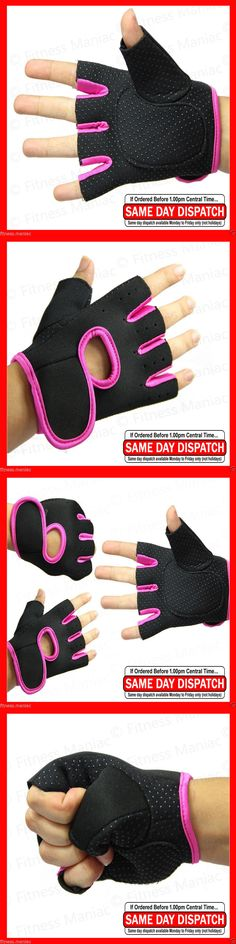 Gloves Straps and Hooks 179820: Women Weight Lifting Gloves Ladies Pro Fitness Glove Gym Sport Workout Pink M L -> BUY IT NOW ONLY: $999.99 on eBay!