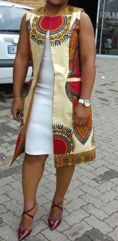 African Kimono jacket / Dashiki Jacket / African jacket / Ankara dress / African clothing / Ankara j