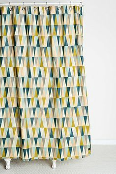 ferm LIVING Spear Shower Curtain - Urban Outfitters