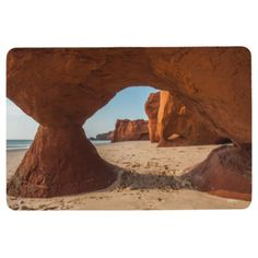 Carpet photo beach and course floor mat - home gifts ideas decor special unique custom individual customized individualized