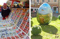 easter eggs in Prague, czech republic