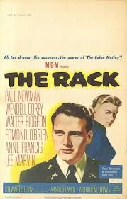 """The rack  -1956- """"le supplice des aveux"""" A decorated Korean War hero inexplicably collaborates with the enemy while interred in a POW camp and is court-martialed."""