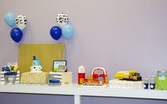 Little blue truck party theme; little blue truck party ideas