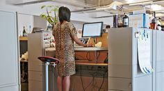 <em>Fast Company</em> Web Producer Cia Bernales made the switch to a standing desk a year ago. She shares why she's never going back to a regular office chair and how her posture got a new angle.