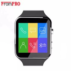 FROMPRO Smart Watch X6 Android BT Smartwatch HD Curved Display Sync Facebook Whatsapp Message Support Sim TF inteligente reloj #Affiliate