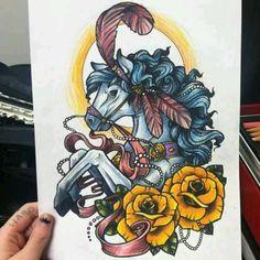 Horse tattoo!