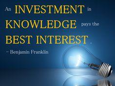 The best interest.