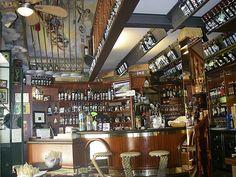 Wine bar in Bellagio, Tremezzo, Italy