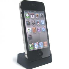 Docking Station iPhone 4 e 4S - Preta