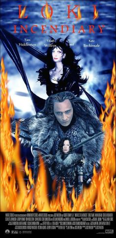 Loki solo film spoof poster * * * Kate body by http://digital-art-gallery.com/picture/12779 / Mash-up by me * * * Queen by http://daelyth.deviantart.com/art/Queen-Raven-330719970 Toyah face mash-up by me