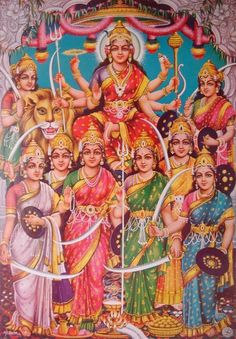 The Nine Goddess to Worship on Navratri Festival The Hindu festival of Navaratri lasts for 9 days which are dedicated to nine forms of Mo. Shiva Hindu, Shiva Shakti, Hindu Deities, Hindu Art, Maa Durga Image, Durga Maa, Saraswati Mata, Durga Images, Lakshmi Images