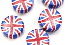 Jubilee Union Jack Coin Beads