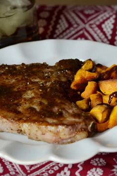 These Instant Pot Honey Pork Chops are sweet, savory, and comforting. This simple dish takes just a few real food ingredients, for a show-stopping main course.