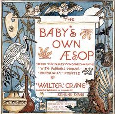 Title Page from The Baby's Own Aesop by Walter Crane