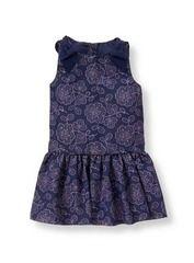 Shimmer Floral Dress