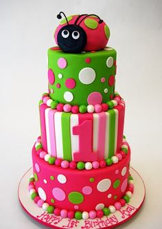 Would be perfect for Claire as one of her nicknames is Ladybug!  Love the colors! And Tom loves fondant!
